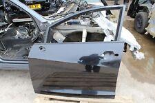 2010 SEAT IBIZA MK5 N/S/F PASSENGER SIDE FRONT DOOR BLACK LC9Z