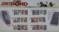UK IAN FLEMING'S JAMES BOND ROYAL MAIL STAMP SHEET PRESENTATION PACK