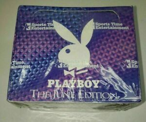 Playboy The JUNE Edition Factory Sealed Trading Card Box (36/10) New