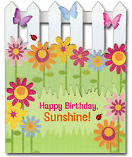 Happy Birthday Sunshine Die Cut 3D Birthday Card by Paper House Productions