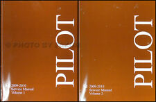 NEW 2009-2010 Honda Pilot Shop Manual Set Original Factory Repair Service 2 Vols