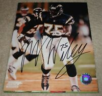 MARCELLUS WILEY Signed CHARGERS 8x10 photo