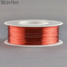 Magnet Wire 35 Gauge AWG Enameled Copper 2480 Feet Coil Winding Red