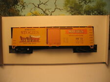 "TRAIN MINIATURES HO SCALE #2032 40' WOOD REEFER WOLF BROS ""STOGIES"" CIGARS #12"