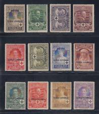 GUINEA (1926) NUEVOS SIN FIJASELLOS MNH - EDIFIL 179/90 CRUZ ROJA