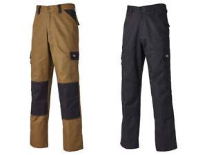 Dickies ED247GYBK38R Everyday Trousers Grey and Black Waist 38in Regular