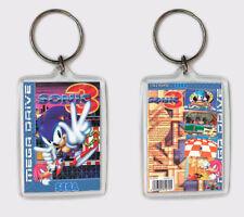 Schlüsselanhänger Sonic 1 Sega Megadrive Genesis Schlüsselanhänger
