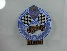 Speedway Old Timers Member Collector Decal Indianapolis 500 Old Stock IMS