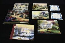 Lot of 6 Pc. of Thomas Kinkade Collector Plates & Books Seasons Of Reflection
