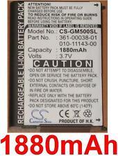 Batterie 1880mAh type 010-11143-00 361-00038-01 Pour Garmin Aera 500