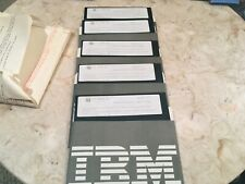 "IBM Microsoft DOS 6.1 on 5.25"" FLOPPY DISKS"
