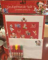 Set d' activités de Noël / Christmas activity set Disneyland Paris