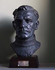 Cc Bronzo Busto di Manchester City Fc Leggenda Bert TRAUTMANN. LIMITED ed. del 50