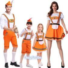 Oktoberfest Family Leiderhosen German Beer Bavarian Men Women Boys Girls Costume