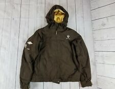 Burton Women's  Insulated Snowboard Ski Winter Jacket Brown gold size  medium