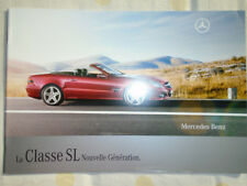Mercedes SL Class brochure Jan 2008 French text