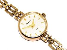 Ladies 9Ct 9 Carat Yellow Gold Empress Quartz Watch