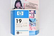 Genuine HP 19 Black Ink Cartridge New Sealed Exp 2007 Deskjet 350c, cbi, Printer