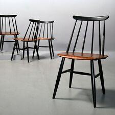 1 (von 5) Fanett Chair von Ilmari Tapiovaara für Asko, frühe Ausführung Teak 60s