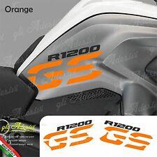 Set Adesivi Fianco Serbatoio Moto BMW R 1200 gs LC Orange