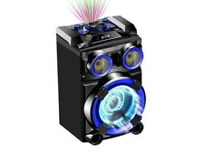BRAND NEW! DYNAMIC PORTABLE PARTY BOX- LG102- USB/ SD INPUT- BLUETOOTH-LED