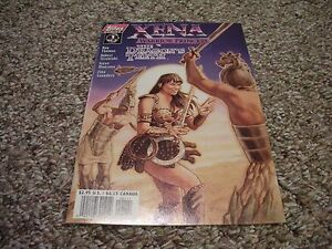 Xena Warrior Princess The Dragon's Teeth #1 2 3 (1997) Topps Comics VF/NM
