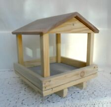 Handcrafted Bird Feeder * Wooden Tray Bird Feeders * 12 x 12 Outdoor Feeders *