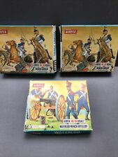 Airfix HOOO Waterloo French Cavalry x2 & French Artillery Boxed Rare Job Lot