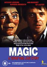 Anthony Hopkins Ann-Margaret MAGIC - VENTRILOQUIST DUMMY HORROR DVD