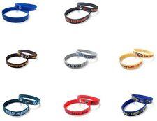 NFL Rubber Silicone Bracelet Fashion American Football Sport Cuff Wristband