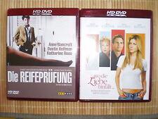 "HD-DVD ""Die Reifeprüfung"" (1967) + ""Wo die Liebe hinfällt"" (2005) -> neuwertig"