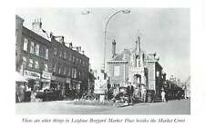 1959 Photo View Of Leighton Buzzard Marketplace