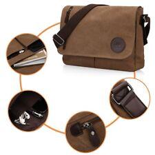 Canvas Leather Crossbody Bag Men Military Army Vintage Messenger Bags Shoulder