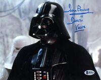 DAVID DAVE PROWSE SIGNED 8x10 PHOTO DARTH VADER STAR WARS BECKETT BAS