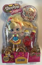 Shopkins Shoppies POPETTE NEW SEALED With 2 Exclusive Shopkins rare figure
