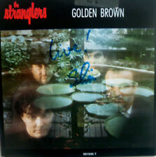 """7"""" 1988 NL-press RARE IN MINT -! Stranglers Live: GOLDEN Brown + no more Heroes"""