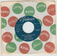 Mary JOHNSON * Hard Forgetting Memories * 1963 NORTHERN SOUL POPCORN NEW BREED *