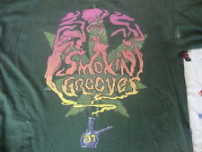 VTG 90's Smokin Grooves Outkast The Pharcyde Rap Tour weed concert T Shirt 2XL