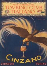CINZANO VERMOUTH TORINO, Italy, 1916 by Marcello Dudovich, 250gsm A3 Poster