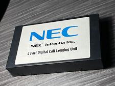 Nec 4 Port Digital Call Logging Unit Part 780273 Used