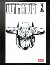 Ultimatum #2 Sketch Variant Ed McGuinness Marvel Comics Jeph Loeb (W) Finch (A)