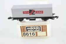 8616 Containerwagen SEALAND Märklin mini-club Spur Z OVP