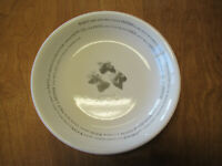 "Pottery Barn RECIPE Individual Pasta Salad Bowl 9 3/4"" 1 ea"