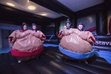 Twin Wrestling Sumo Suits by Supersumo Ltd