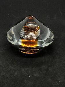 Murano Style Studio Art Glass Paperweight