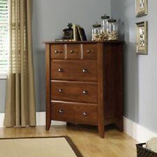 Sauder Shoal Creek Oiled Oak 4-Drawer Dresser HOME Storage