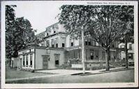 Hackettstown, NJ 1930s Postcard: Hackettstown Inn - New Jersey