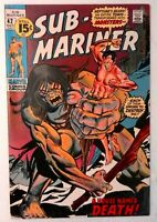 Sub-Mariner #42 Marvel 1971 VF- Bronze Age Comic Book 1st Print