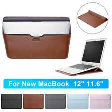 Waterproof Leather Laptop Bag Sleeve Case for MacBook Pro Air 12/11.6inch Laptop
