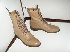 JUSTIN Roper  Granny Grunge Boots Size 6.5 B Women's (RUN BIGGER)